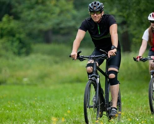 Fahrrad- und Wanderspaß