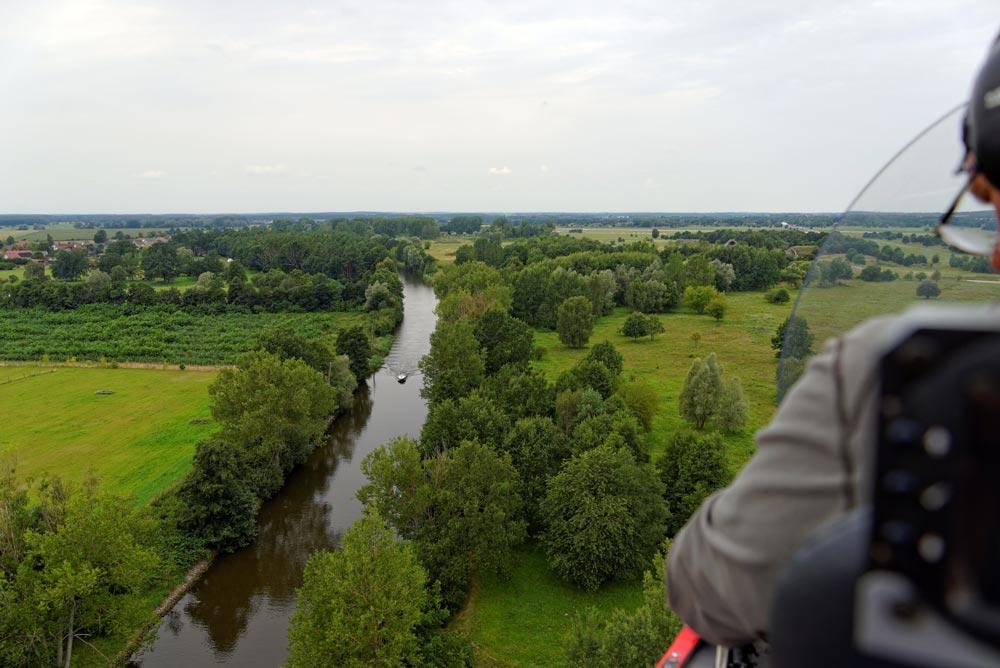 Rundflug über Mirwo im Gyrocopter